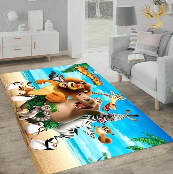 تصویر فرش اتاق کودک