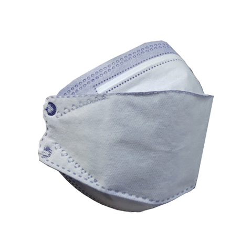 تصویر ماسک تنفسی سه بعدی بسته 5 عددی
