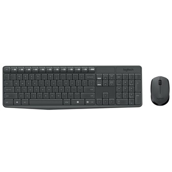 کيبورد و ماوس لاجيتک مدل MK235 | Logitech MK235 Keyboard and Mouse