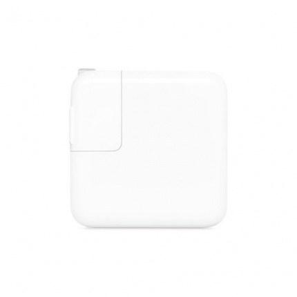 تصویر آداپتور شارژ اصلی مک بوک 30 وات یو اس بی سی اپل Apple 30W USB-C Power Apple 30W USB-C Power Adapter