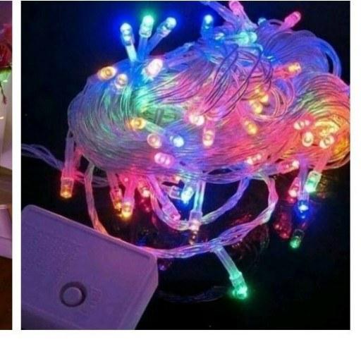 تصویر ریسه ۱۰۰ لامپ مولتی سوزنی Multi Function 100 LED