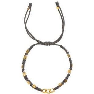 دستبند طلا 18 عیار گرامی گالری مدل B704 | Geramy Gallery B704 Gold Bracelet