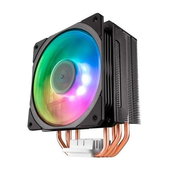 تصویر خنک کننده پردازنده کولر مستر HYPER 212 SPECTRUM RGB Cooler Master HYPER 212 SPECTRUM RGB CPU Cooler