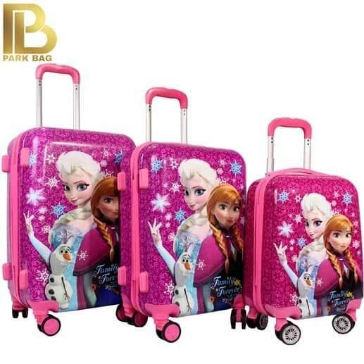 چمدان کودک وارداتی مدل Frozen 2021
