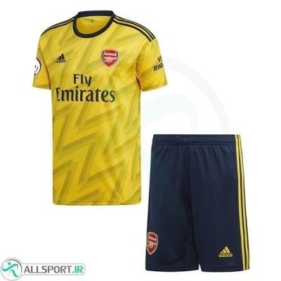 پیراهن شورت دوم آرسنال Arsenal 2019-20 Away Soccer Jersey Kit Shirt+Short