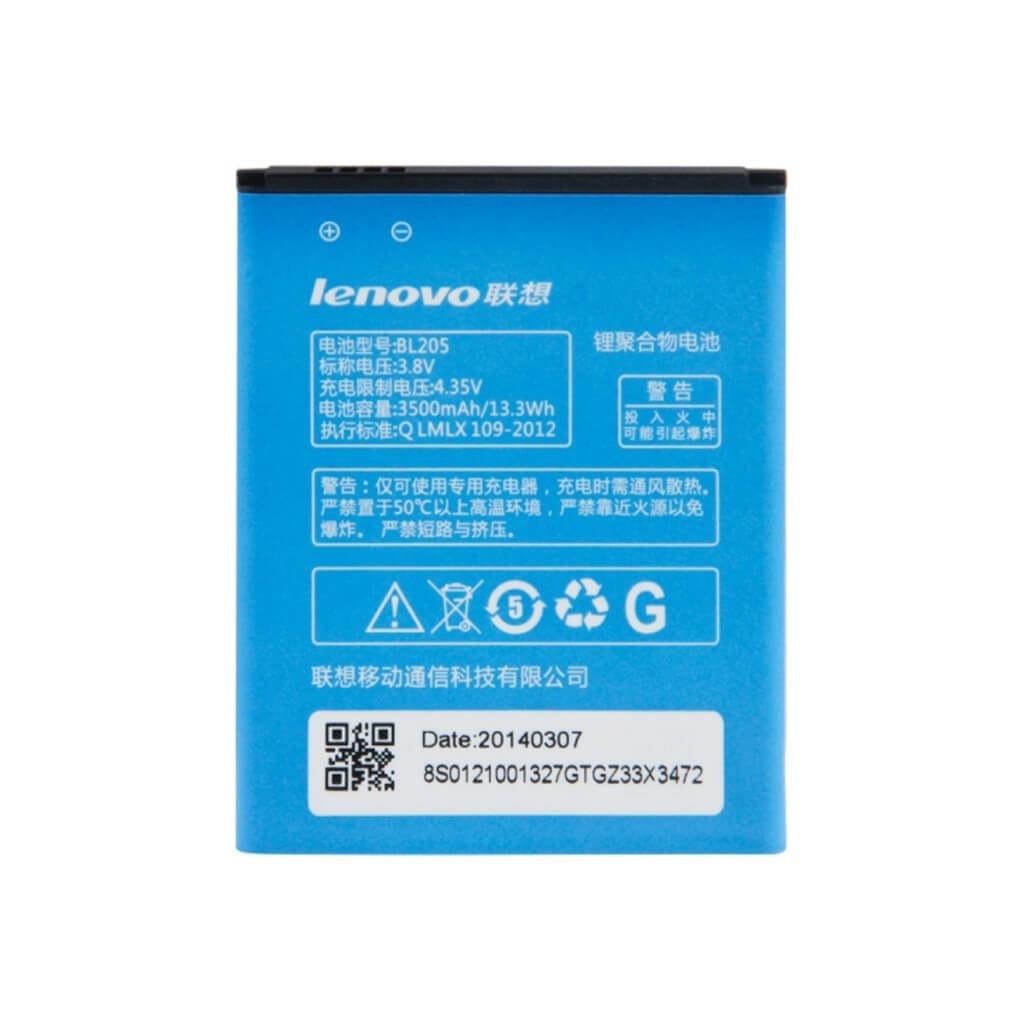 تصویر باتری لنوو Lenovo P770 مدل BL205 battery Lenovo P770 model BL205