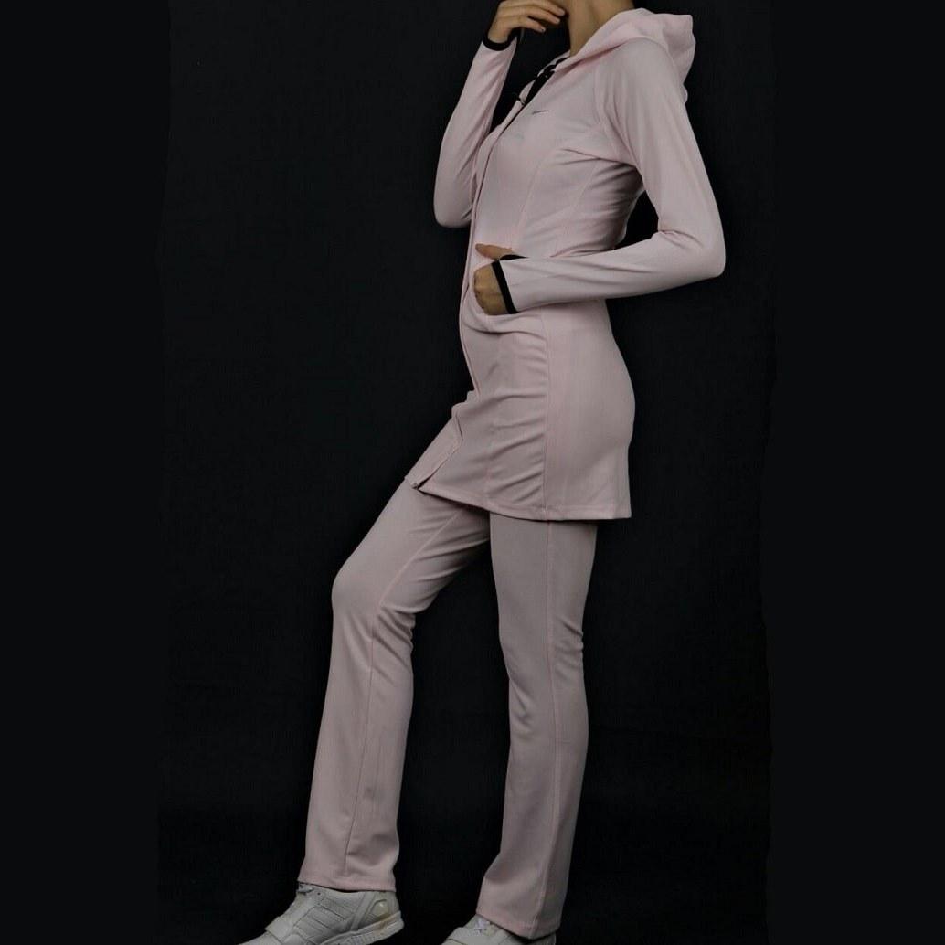تصویر ست مانتو و شلوار نایک Nike Mantle and Trousers