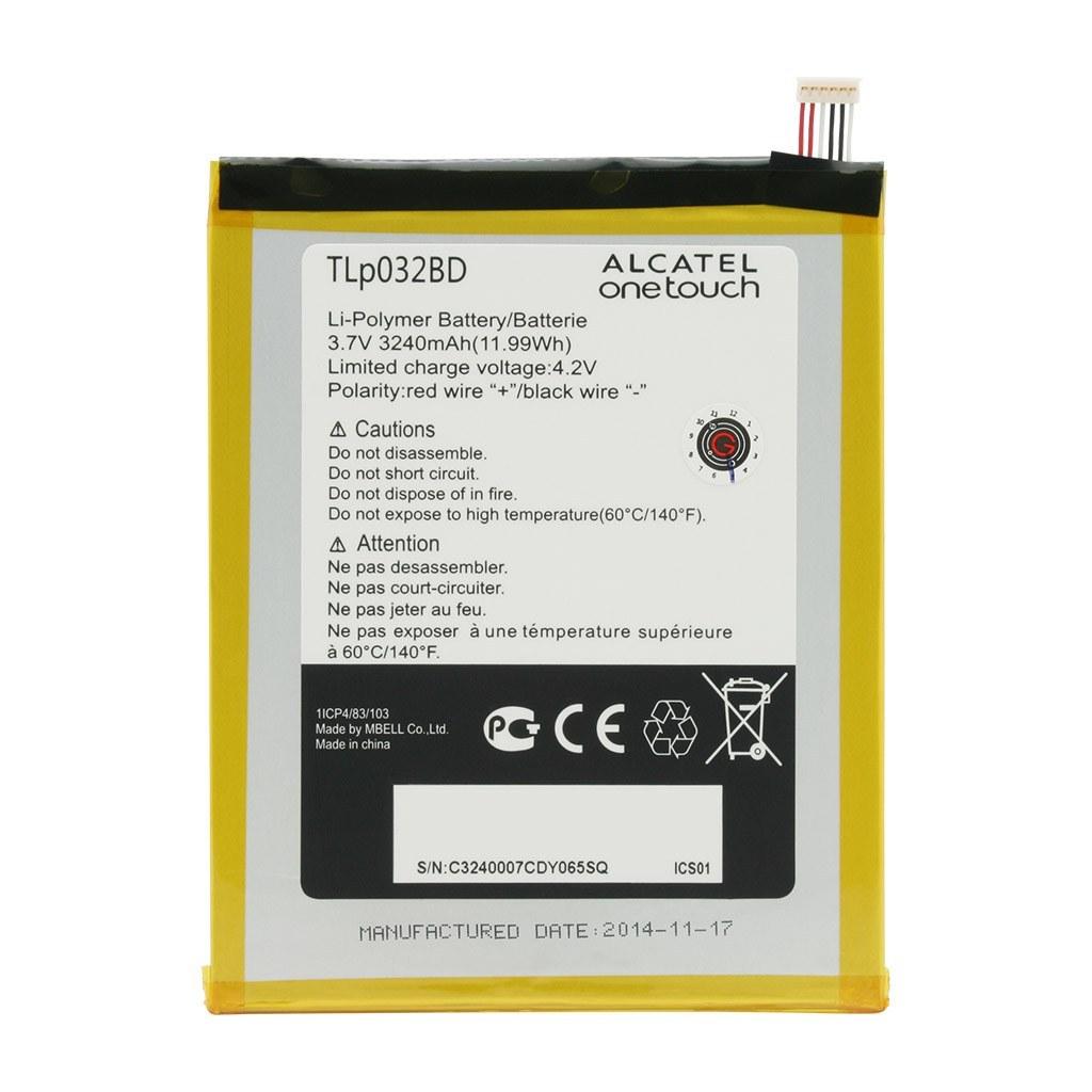 تصویر باتری اورجینال تبلت آلکاتل Pop 7 مدل TLp032BD ظرفیت 3240 میلی آمپر ساعت Alcatel OneTouch Pop7 P310X - TLp032BD 3240mAh Original Battery