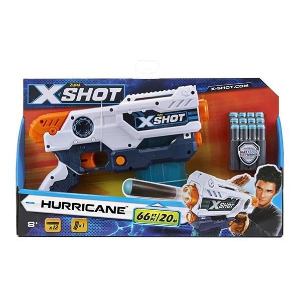 تصویر تفنگ اکس شات X-Shot مدل Hurricane Clip