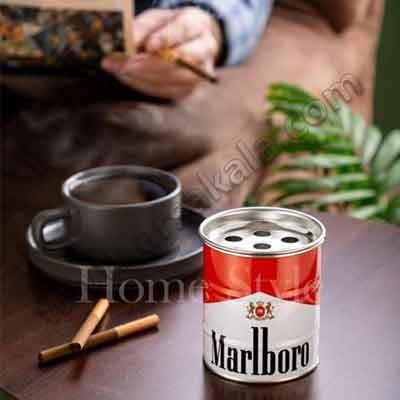 تصویر زیر سیگاری طرح بشکه