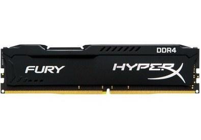 عکس KingSton HyperX FURY DDR4 16GB 2400MHz CL15 Single Channel Desktop RAM رم کینگستون مدل هایپر ایکس فیوری با فرکانس ۲۴۰۰ مگاهرتز و حافظه ۱۶ گیگابایت kingston-hyperx-fury-ddr4-16gb-2400mhz-cl15-single-channel-desktop-ram