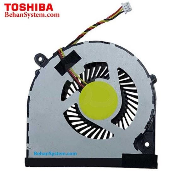 تصویر فن پردازنده لپ تاپ Toshiba مدل Satellite C855 سه سیم / DC5V