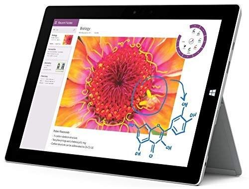 """عکس تبلت مایکروسافت Surface 3 ، Intel Atom x7 x7-Z8700 ، 1.6 گیگاهرتز ، 4 گیگابایت ، 64 گیگابایت SSD ، ویندوز 10 ، نقره ، 10.8 """"(تجدید شده)  تبلت-مایکروسافت-surface-3-intel-atom-x7-x7-z8700-16-گیگاهرتز-4-گیگابایت-64-گیگابایت-ssd-ویندوز-10-نقره-108-and-quot-تجدید-شده"""