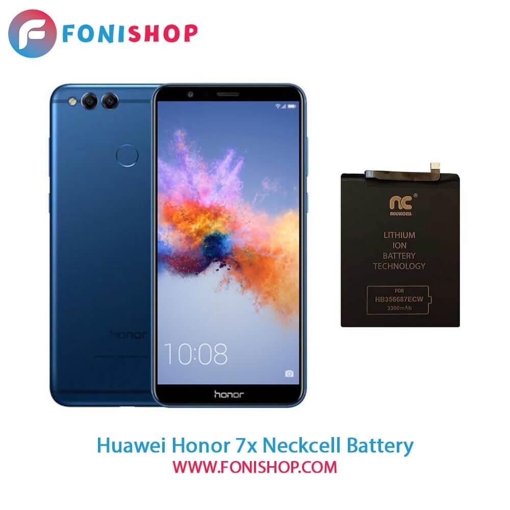تصویر باتری اصلی و تقویت شده هوآوی Huawei Honor 7X