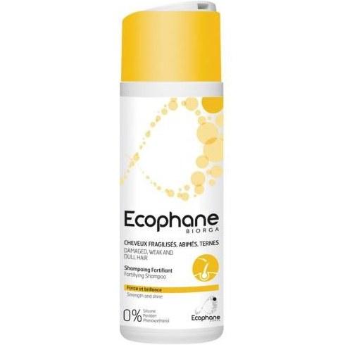 شامپو تقویت کننده مو اکوفن بایورگا مدل Ecophane Fortifying حجم 200 میلی لیتر