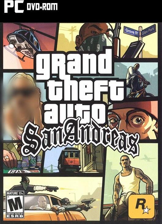 تصویر خرید بازی GTA San Andreas دوبله فارسی برای کامپیوتر