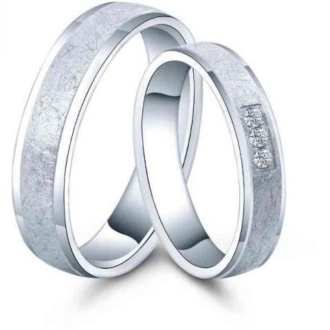 قیمت ست حلقه نقره - کد R022- ست انگشتر نقره