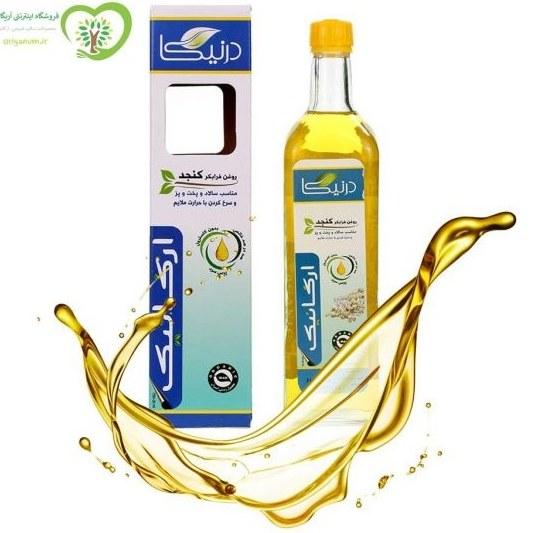 عکس روغن کنجد فرابکر ارگانیک درنیکا (.75 لیتری) Dornika Organic Extra Virgin Sesame Oil .75 Lit روغن-کنجد-فرابکر-ارگانیک-درنیکا-75-لیتری