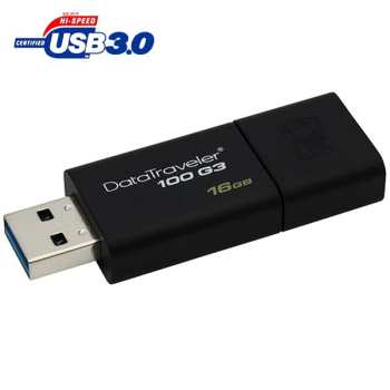 تصویر فلش مموری کینگستون مدل DT100 G3 ظرفیت 64 گیگابایت Kingston DT100 G3 USB 3.0 Flash Memory - 64GB