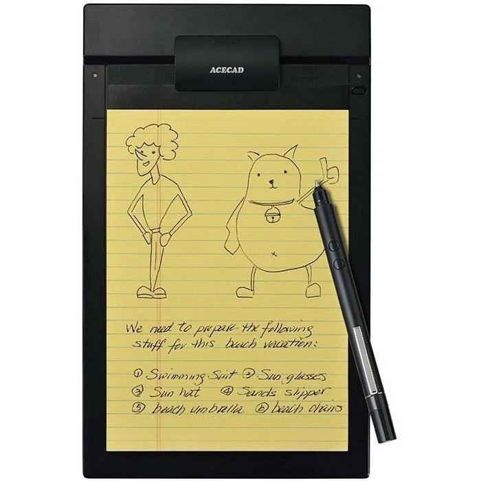 main images دفترچه یادداشت دیجیتال و قلم نوری ایس کد مدل PenPaper 2 قلم نوری , صفحه دیجیتال ایس کد PenPaper 2 Digital Notepad