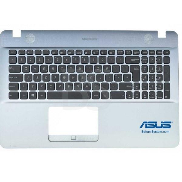به همراه کیبورد فارسی بدون تاچ پد | قاب دور کیبورد لپ تاپ ASUS مدل VivoBook R541