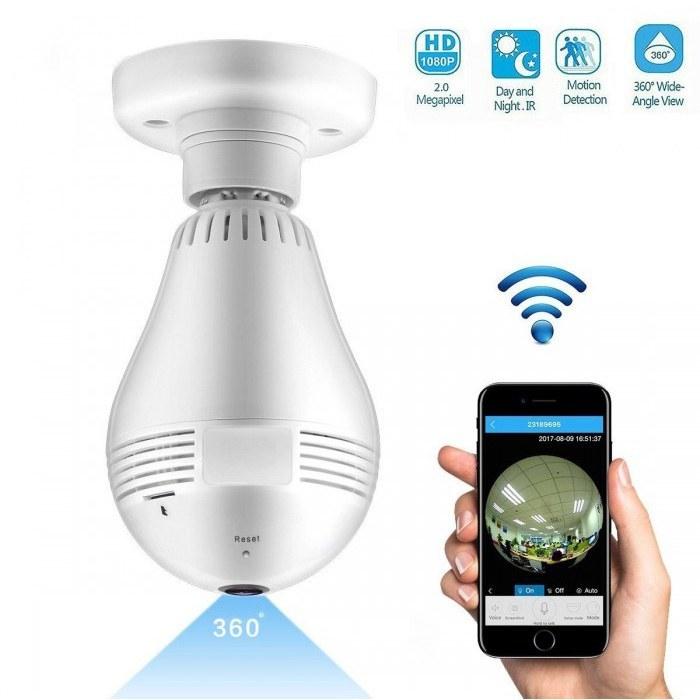 تصویر دوربین لامپی HD COOPER bulb camera cooper 360