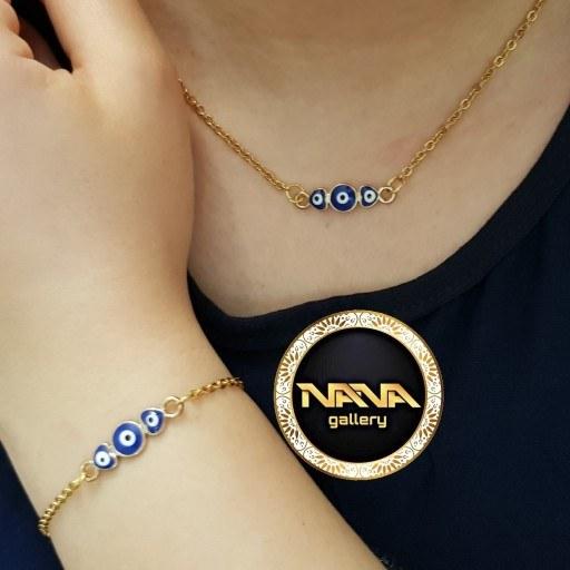 عکس ست دستبند و گردنبند دخترانه  ست-دستبند-و-گردنبند-دخترانه