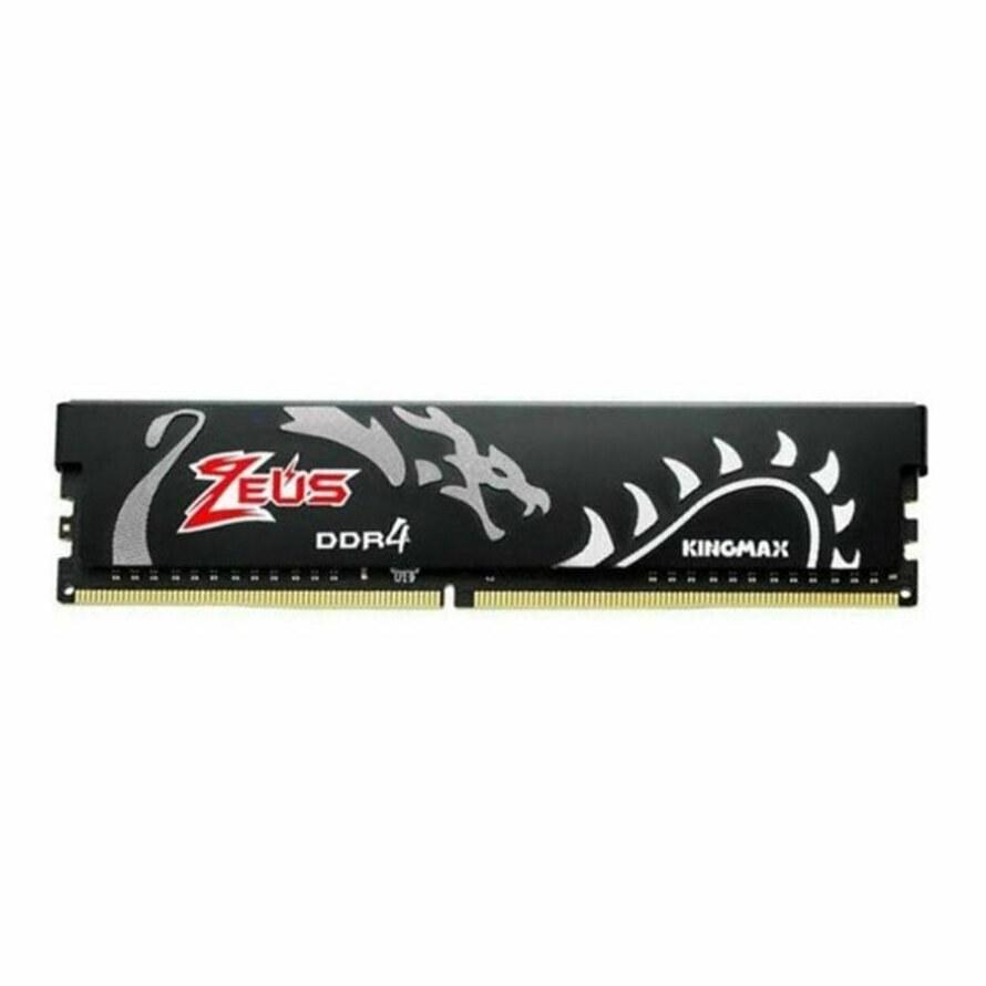 تصویر رم کینگ مکس Zeus Dragon 8GB 3000Mhz CL17 ا Kingmax Zeus Dragon 8GB 3000MHz CL17 DDR4 RAM Kingmax Zeus Dragon 8GB 3000MHz CL17 DDR4 RAM