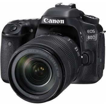 دوربین دیجیتال کانن مدل  Eos 80D EF S به همراه لنز 18-135 میلی متر f/3.5-5.6 IS USM | Canon Eos 80D EF S 18-135mm f/3.5-5.6 IS USM Kit Digital Camera