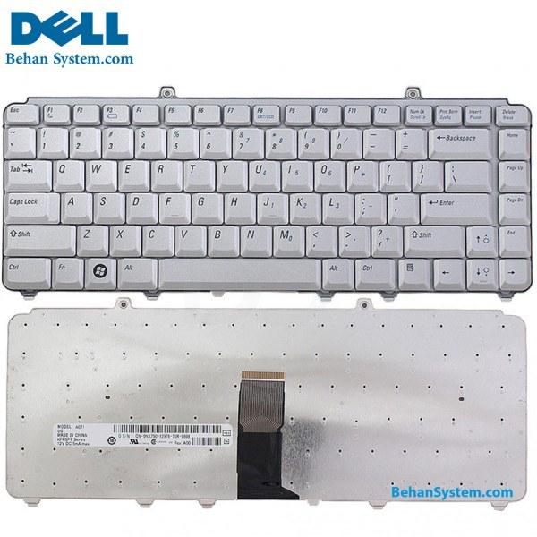تصویر کیبورد لپ تاپ Dell مدل Inspiron 1520 به همراه لیبل کیبورد فارسی جدا گانه