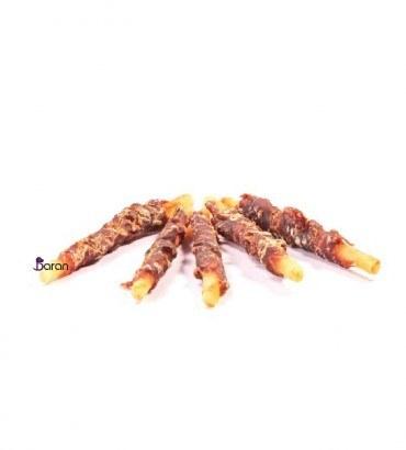 تشویقی سگ استخوان کلسیمی دور گوشت مرغ دینگو   Dr Dingo Dog Treat Roll chicken 100g