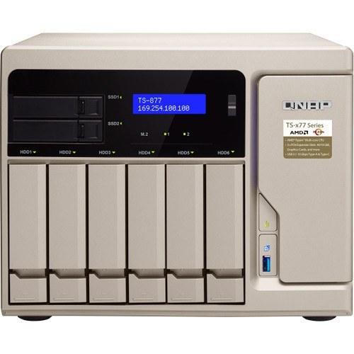 ذخیره ساز تحت شبکه کیونپ مدل TS-۸۷۷-۱۷۰۰-۱۶G