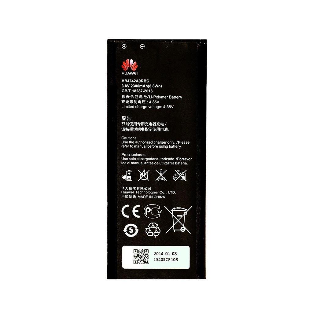 تصویر باتری هواوی HB4742A0RBW ظرفیت 2400 میلی آمپر ساعت Huawei HB4742A0RBW 2400mAh Battery