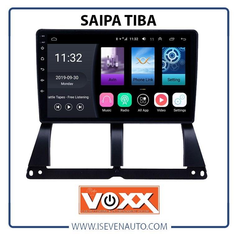تصویر مانیتور اندروید VoxX – مدل C400 تیبا – سایپا مانیتور اندروید VoxX – مدل C400 تیبا – سایپا