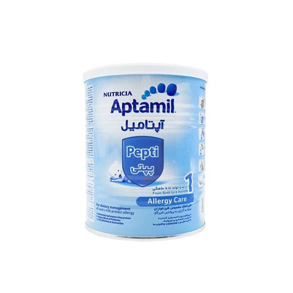 تصویر شیر خشک آپتامیل مدل پپتی شماره یک