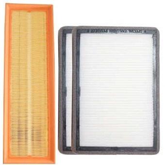فیلتر هوا خودرو سرعت فیلتر کد  310 مناسب برای سمند  و دنا بسته 2 عددی  به همراه فیلتر کابین |