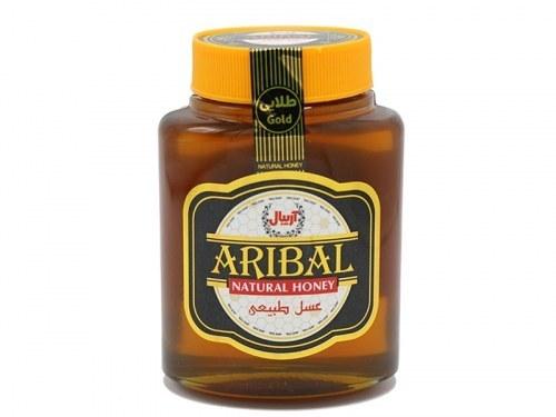 تصویر عسل طبیعی طلایی آریبال 800 گرمی قیمت عسل طبیعی طلایی چهل گیاه آریبال ۸۰۰ گرمی  به شرط خرید تیمی