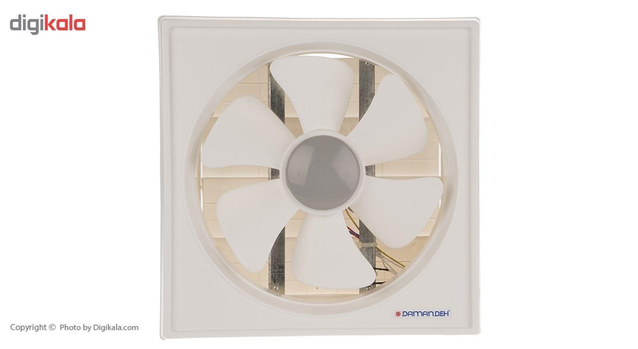 تصویر هواکش خانگی دمنده سری لوکس مدل VSG-30C4S Damandeh VSG-30C4S Lux Series Wall Mount Fan
