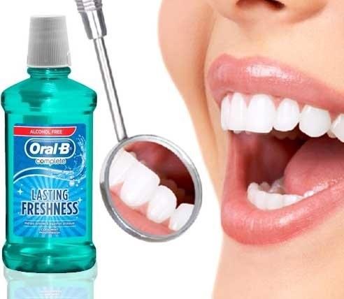 مایع دهان شویه بزرگ ORAL B