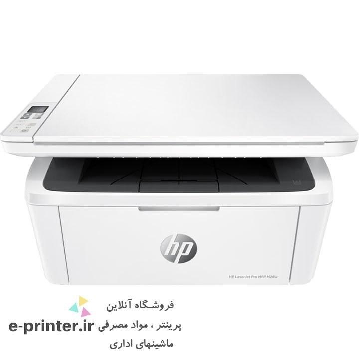 main images پرینتر چندکاره لیزری اچ پی مدل LaserJet Pro M28w HP Printer LaserJet MultiFunction M28w