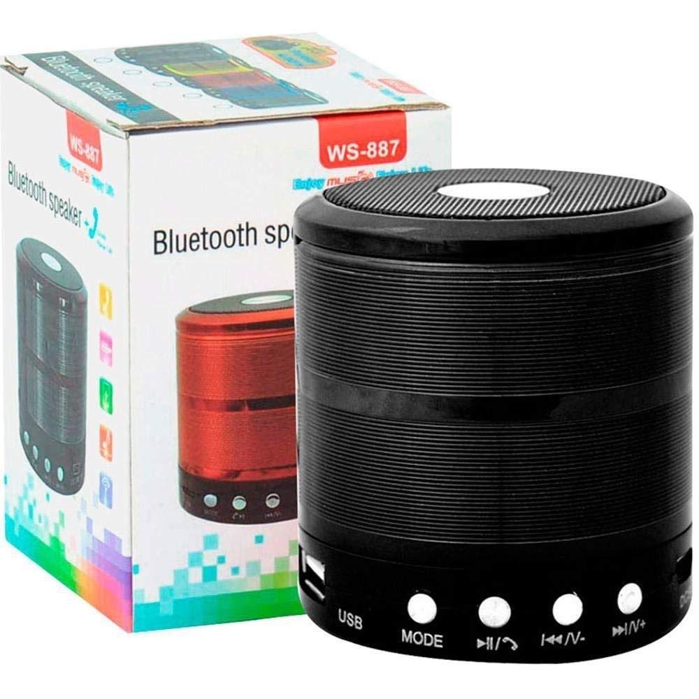 تصویر اسپیکر بلوتوث مینی مدل WS-887 Mini TG113 WS-887 Portable Bluetooth Speaker