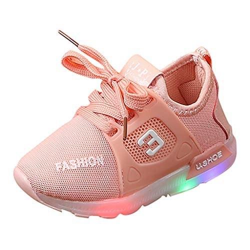 کفش ورزشی کفش بچه گانه کودک نوپا برای کودکان 1-6 ساله کفش ورزشی سبک در فضای باز و درخشان سبک
