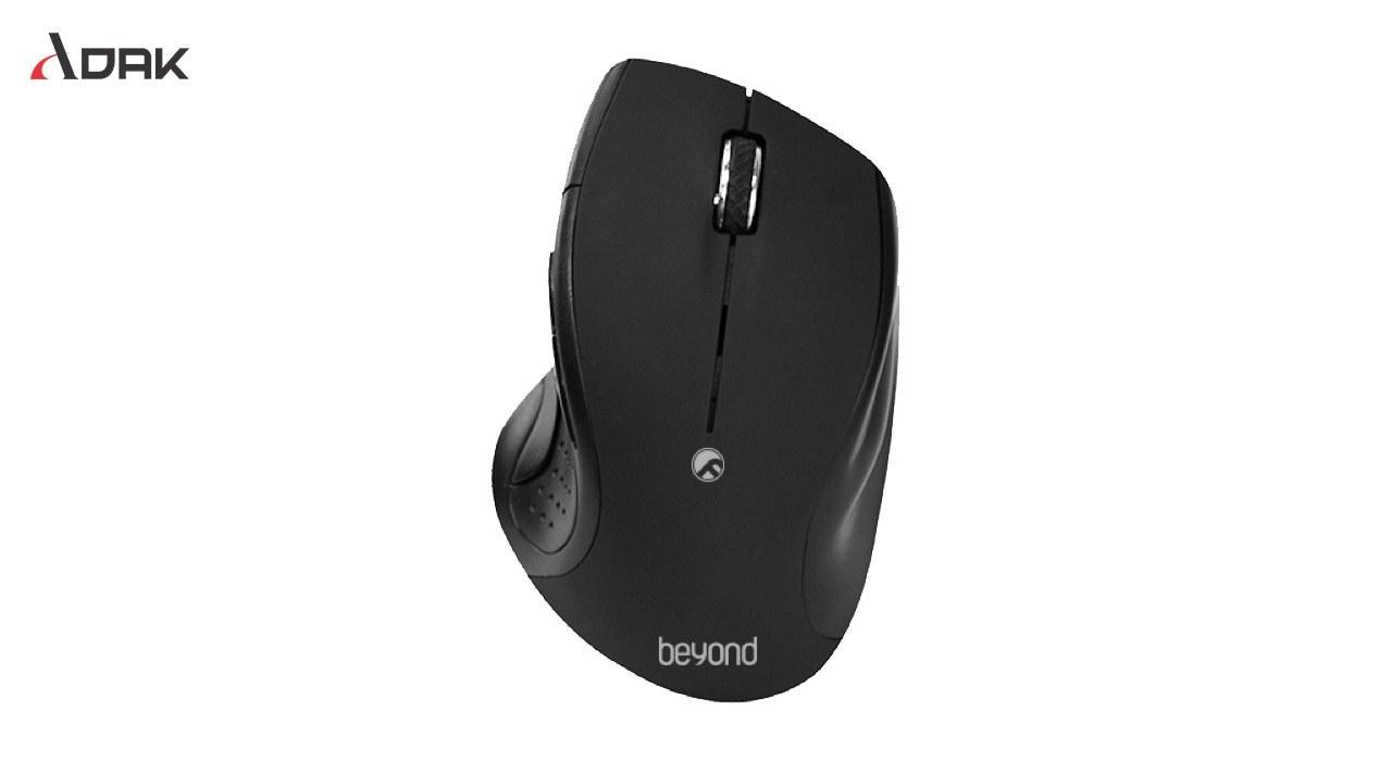 تصویر موس بیسیم بیاند BEYOND Mouse BM1770RF BEYOND Wireless Mouse BM1770RF