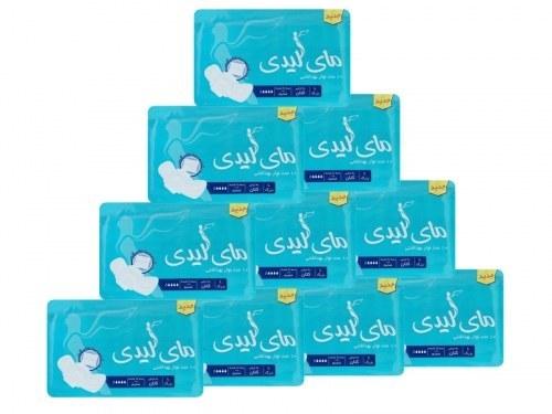 10 بسته 10 تایی نوار بهداشتی مسافرتی مای لیدی |