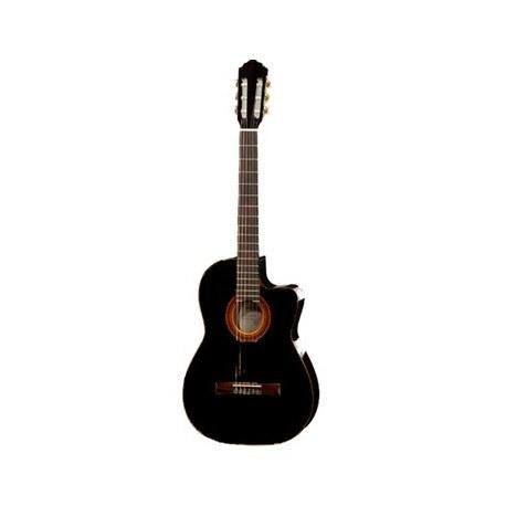 عکس گيتار کلاسيک هافنر مدل HAC204-CEBK Hofner HAC204-CEBK Classical Guitar گیتار-کلاسیک-هافنر-مدل-hac204-cebk
