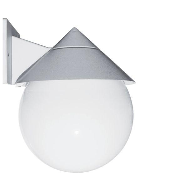 تصویر چراغ حیاطی دیواری کلاه دار شعاع مدل SH-2803-L5