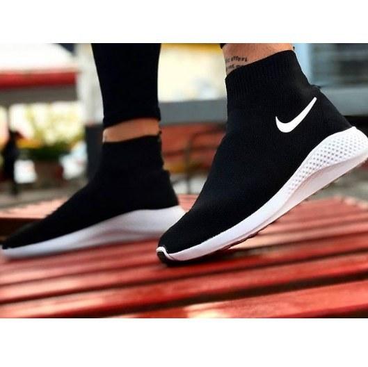 کفش مشکی جورابی زنانه