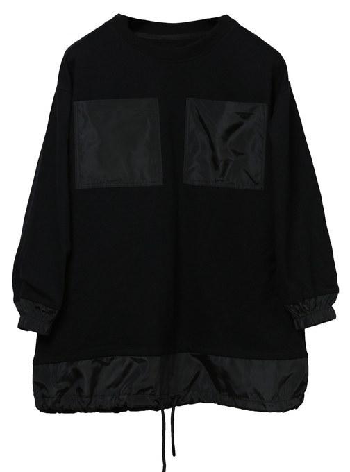 عکس سویی شرت و هودی  لیلاژ lilage  |                  TWPCKT01FW20S BLCK سویی-شرت-و-هودی-لیلاژ