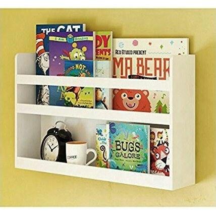 تصویر کتابخانه دیواری کودک