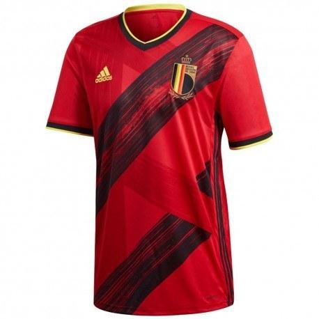 پیراهن اول تیم بلژیک سال Belgium 2020 Home Soccer Jersey